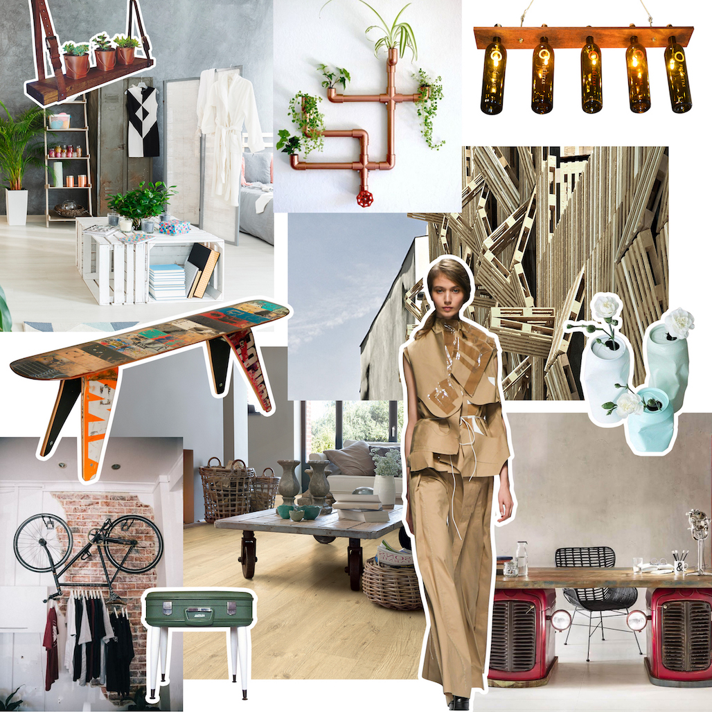 Quick Step Trend Upcycling Moodboard V2